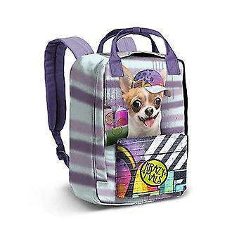 Rucksack Krazy Mals Dash Chihuahua (38 x 27 x 18 cm)