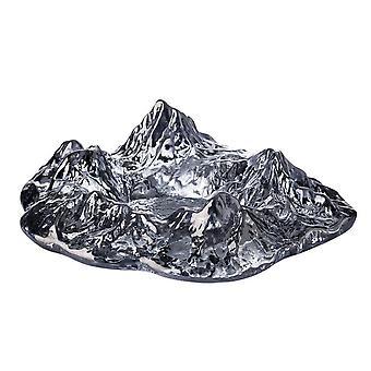Modern Glass Crystal Ashtray Home Creative Mountain Model Iceberg Ashtray