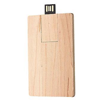 Business Trä U Diskkort USB 2.0 Flash Drive Memory Stick Penna Tumenhet 32GB