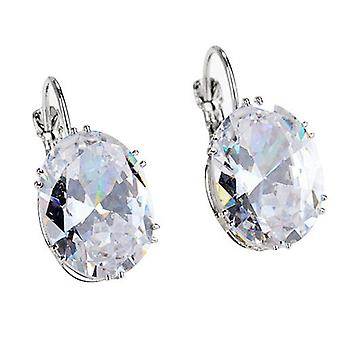 925 الاسترليني الفضة هوب أقراط المرأة Earings حزب المجوهرات