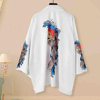 Kimonos estate tradizionale giapponese sciolto cardigan samurai kimonos donne