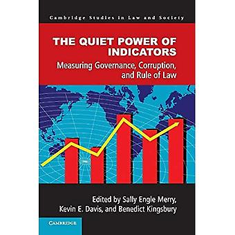The Quiet Power of Indicators (Cambridge Studies in Law and Society)