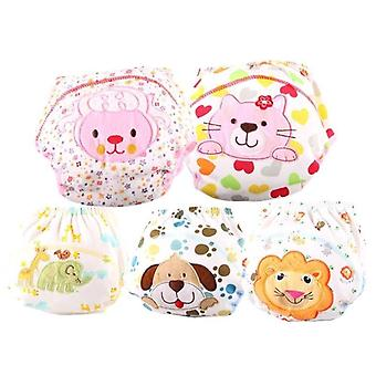 Diapers Cloth Diaper Washable Baby Cotton Training Pants Nappy