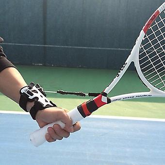 Professional Tennis Trainer Practice Serve Balls Exercise Machine Self Study Correct Wrist