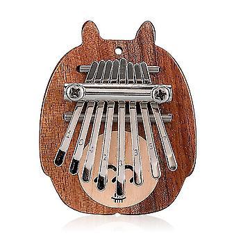 Cute totoro 8 keys kalimba thumb piano musical instrument for beginners