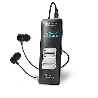 4GB zvukový záznamník MP3 s nahráváním hlasové aktivace mobilního telefonu Bluetooth