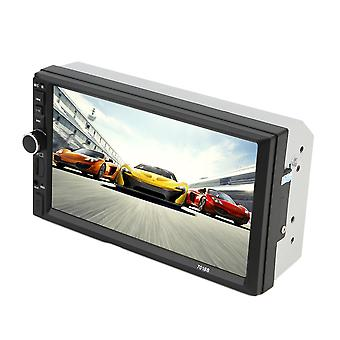 Car 7 Inch Screen Tf Card Doule Din Bluetooth Mp5 Player Audio Player Black