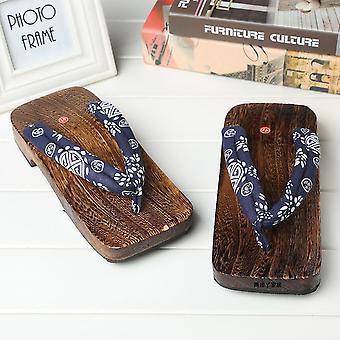 Miesten kesätossut, Puiset varvastossut, Japanilainen Geta-tukos, Cosplay-kengät, Puvut -laivasto