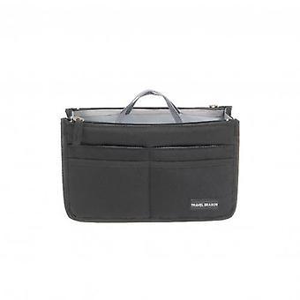 Kvinnors vikbara arrangörsväska, bärbar resväska med stor kapacitet med dubbel dragkedja, arrangörsförvaringsväska, nyhet från