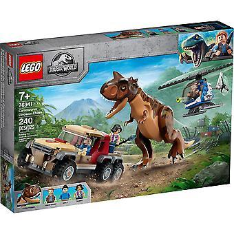 Qian Lego 76941 Carnotaurus Persecución de dinosaurios