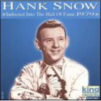 Hank Snow - Hall of Fame 1979 [CD] USA importerer
