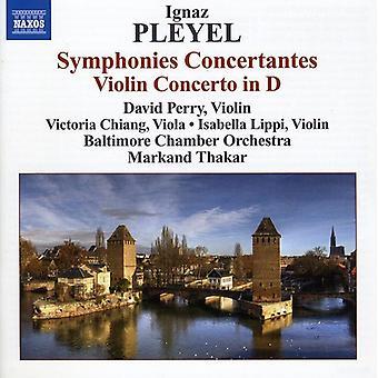 I. Pleyel - at Pleyel: Symfonier Concertantes; Fiolinkonsert i D [DVD] USA importere