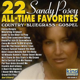 Sandy Posey - 22 all-time Favoriten [CD] USA import