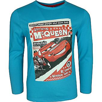Disney Cars Rayo McQueen niños manga larga Top / camiseta
