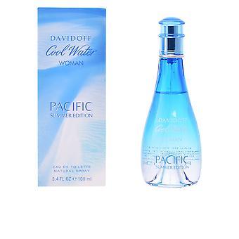 Davidoff Cool vand kvinde Pacific Summer Edition Edt Spray 100 Ml til kvinder