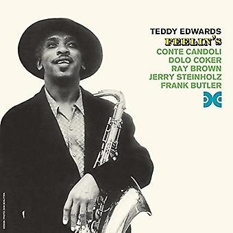 Teddy Edwards - Feelins [CD] USA import