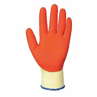 Portwest-grip latex Palm stretávacie uchopovač rukavice (1 pár Pack)