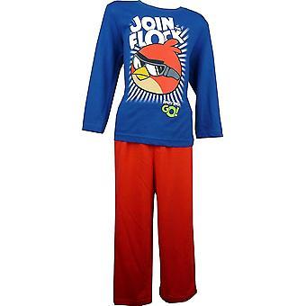Chłopcy Angry Birds długi rękaw pidżamy