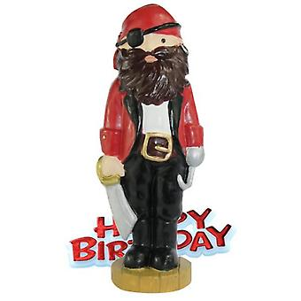 Creative Pirate Design Birthday Party Cake Topper