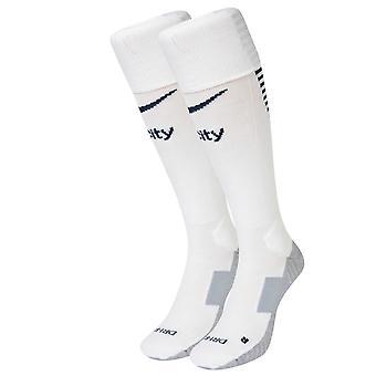2016-2017 Man City Nike Home Socks (White)