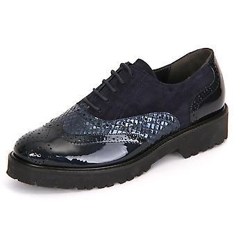 Semler Elena Midnightblue Kalblack Viper Samtchevreau E8223691080 ellegant all year women shoes