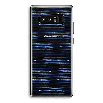 Samsung Galaxy Note 8 Transparant sag (Soft) - overraskende linjer
