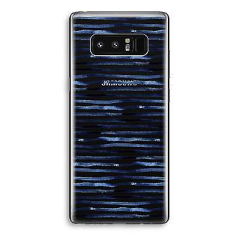 Samsung Galaxy Note 8 gjennomsiktig Case (myk) - overraskende linjer