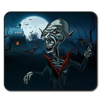 Lunch Zombie dood antislip-muismat Pad van 24 x 20 cm | Wellcoda