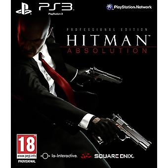 Hitman Absolution Professional Edition (PS3) - Factory Sealed