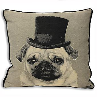 Riva Home Top Dog Pug Cushion Cover