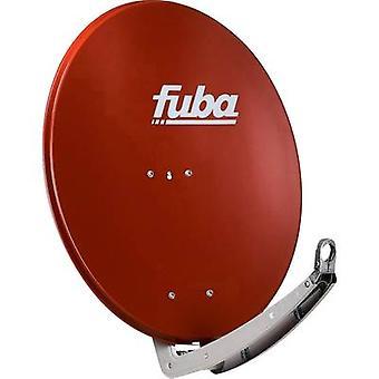 fuba DAA 780 R SAT antenna 78 cm Reflective material: Aluminium Red, Brown
