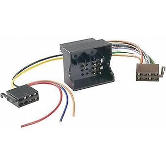 AIV ISO adaptador universal / plug Compatível com: Audi, Opel, Seat, Skoda, Volkswagen
