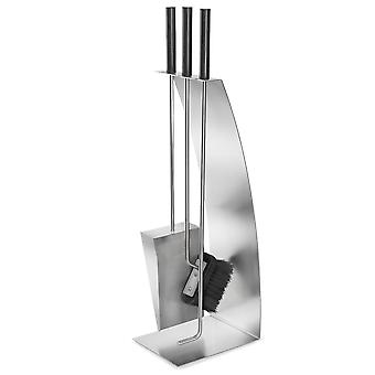 Chimney set stainless steel matt , 4-piece