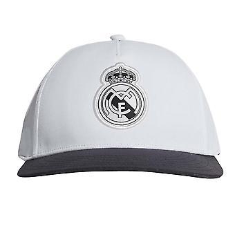 2018-2019 ريال مدريد أديداس CW S16 قبعة (أبيض)