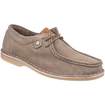 Laço de couro de Marshall Wallabee camurça Gabicci Mens sapatos