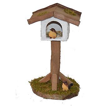 Nativity accessoires stabiele Nativity instellen met birdhouse en twee vogels
