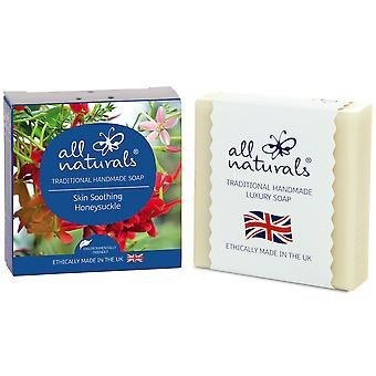 All Naturals Organic Soap Bar Honeysuckle 100g.