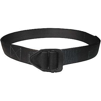 Dessins de bison Dernière Chance Heavy Duty noir boucle ceinture - noir