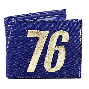 Fallout blu borsa 76 Vault 76, stampato, 70% poliuretano, 30% poliestere, poli sacchetto.
