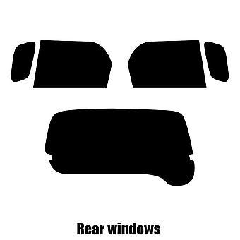 Pre cut window tint - Daihatsu Terios - 1998 to 2005 - Rear windows