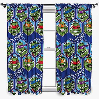 Turtles Curtains 168cm x 183cm