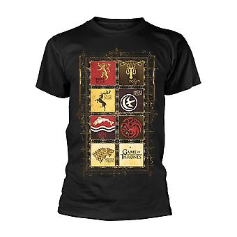 Game Of Thrones Block Sigils T-Shirt