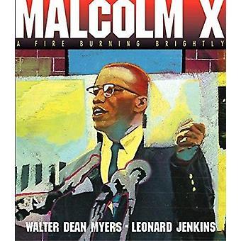 Malcolm X - un feu brûlant vives livre