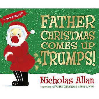 Father Christmas kommer opp Trumps! av Nicholas Allan - Nicholas Allan