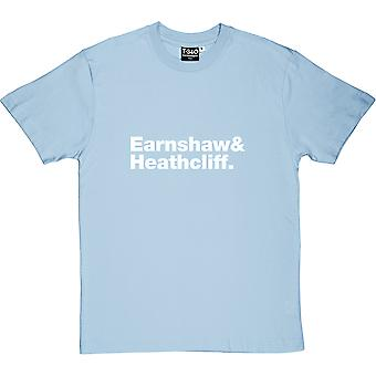Wuthering Heights Line-Up Light Blue Uomini's T-Shirt