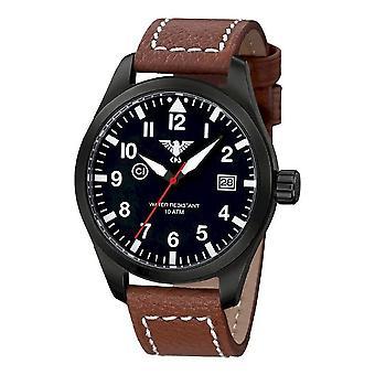 סיקים שעונים מנהיג האוויר שחור פלדה של שחורים. . אני מבין. LB5