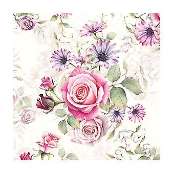 Ambiente 3 Ply Paper Lunch Napkins, Madeline