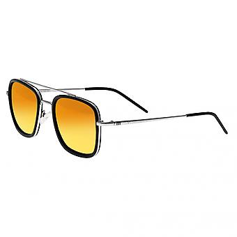 Sixty One Orient Polarized Sunglasses - Black/Red-Orange
