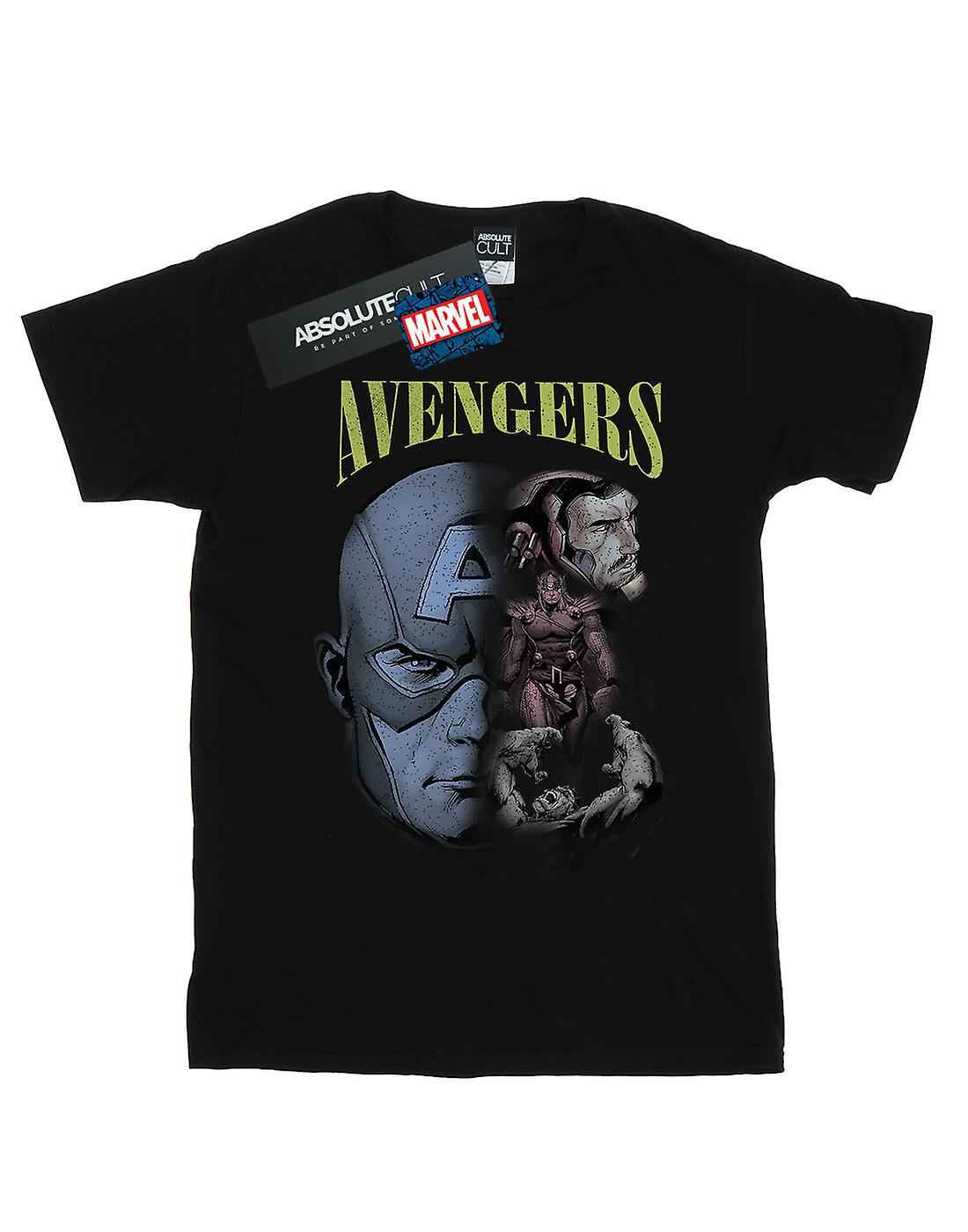 Marvel Women's Avengers Homage Boyfriend Fit T-Shirt