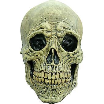 Death Skull Adult Latex Mask For Halloween